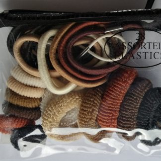28 Assorted Hair Elastics