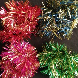 Christmas Tinsel Scrunchies